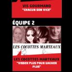 les 3 équipes sélectionnées pour s'affronter samedi 8 février à St Lazare