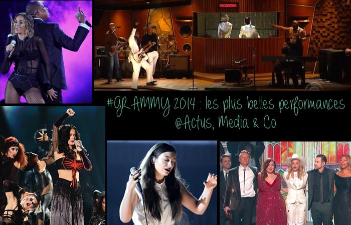 revivez les plus belles performances des graùùy awards 2014