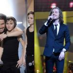 le dandy Julien Doré offre deux prestations dont une avec Salvatore Adamo