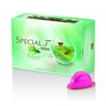la nouvelle saveur O Green Special T marient la pomme verte et le concombre avec le thé vert japonais