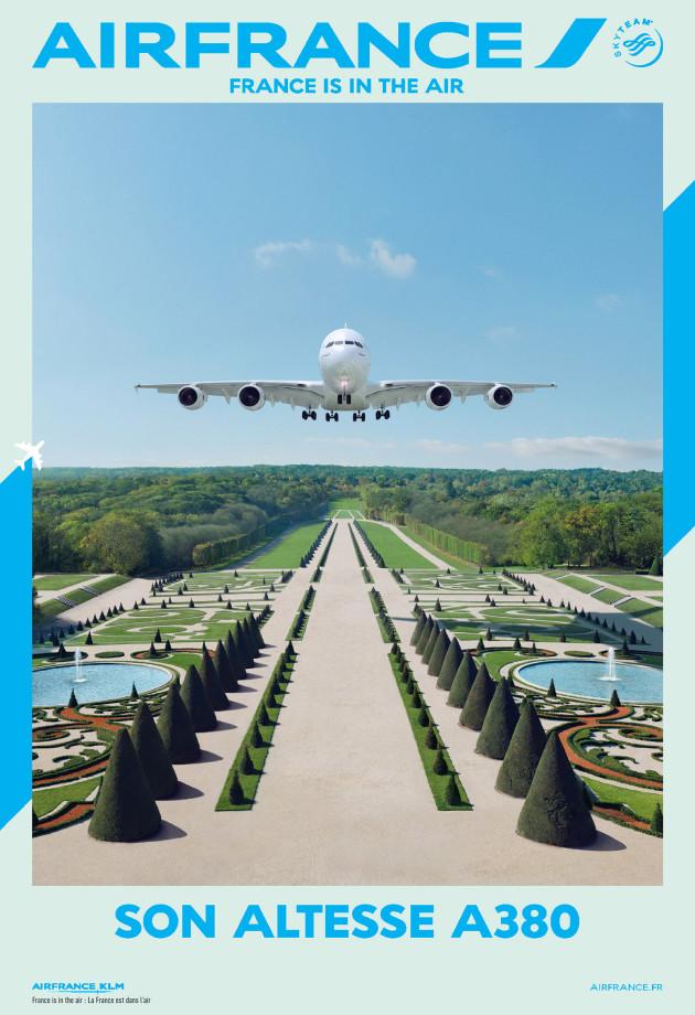 Air France met en avant son A380