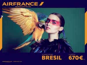 Air France fait la promotion du Brésil