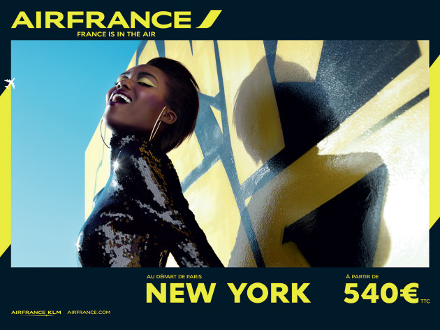 Air France fait la promtoion de New York