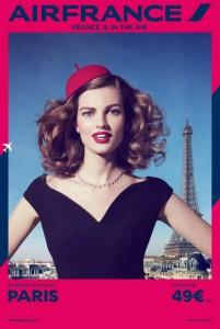 Air France met en avant Paris