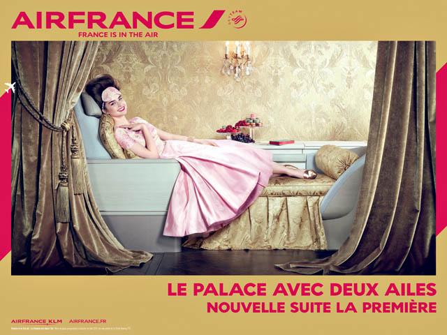 Air France met en avant le confort de ses avions