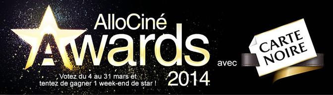 meilleur film, meilleure actrice ou encore meilleure scène, les internautes peuvent voter jusqu'au 31 mars !