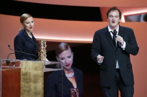 Scarlett Johansson reçoit un césar d'honneur pour sa carrière cinématographique