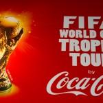 Coca cola organise une tournée du trophée de la coupe du monde dans 90 pays