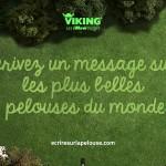 Vicking et Publicis Conseil lancent les iMowssages à tondre sur le pelouses du globe