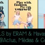 Havas 360 met en scène la mode comme un jeu pour la nouvelle collection 2014 d'Eram