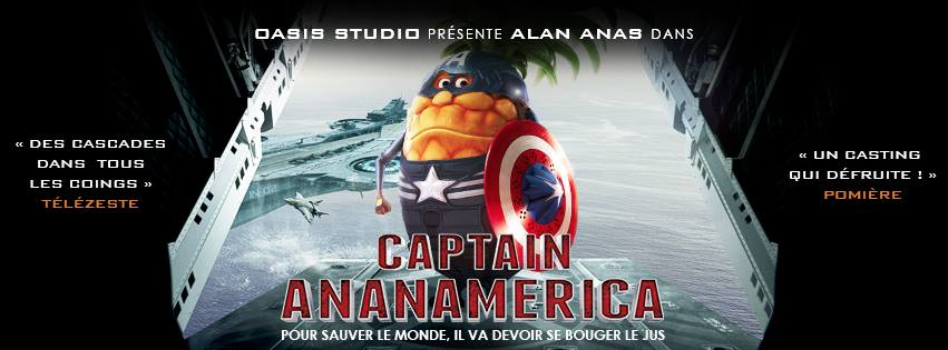 Oasis parodie la blockbuster hollywoodien Captain America