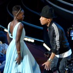 pharrell williams a mis le feu au dolby theatre en faisant danser les actrices du premier rang sur son tube Happy