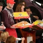 Ellen Degeneres a eu pitié des estomac qui crient et a commandé des pizzas pour le public