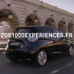 Renault et Publicis mettent en scène l'émerveillement du public qui découvre le modèle électrique ZOE