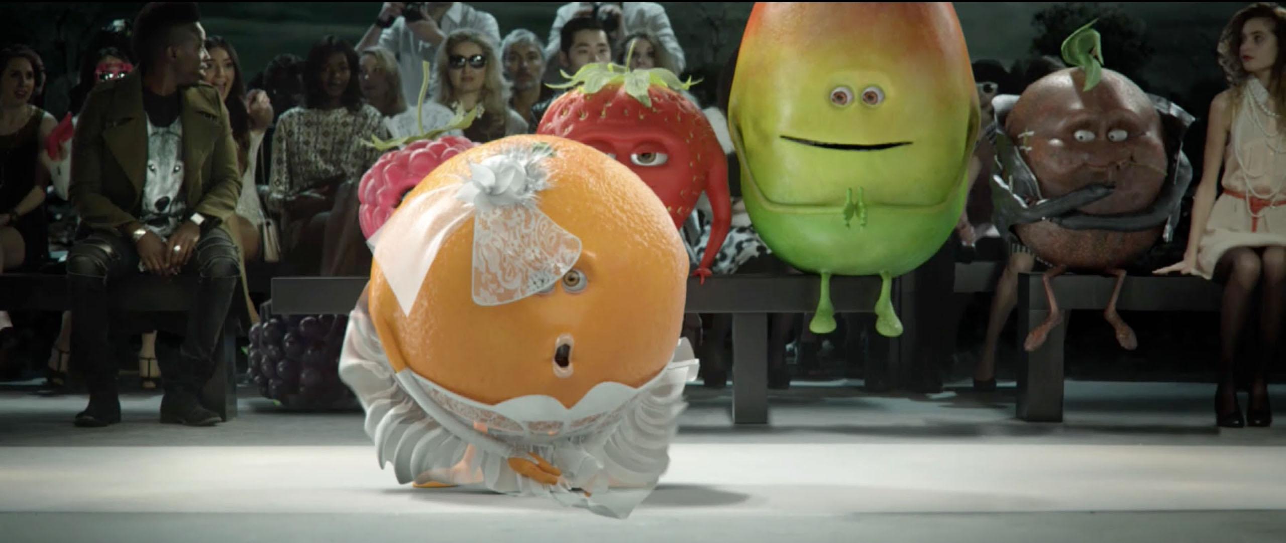 Orange Presslé crée l'événement à la Fashion kiweek