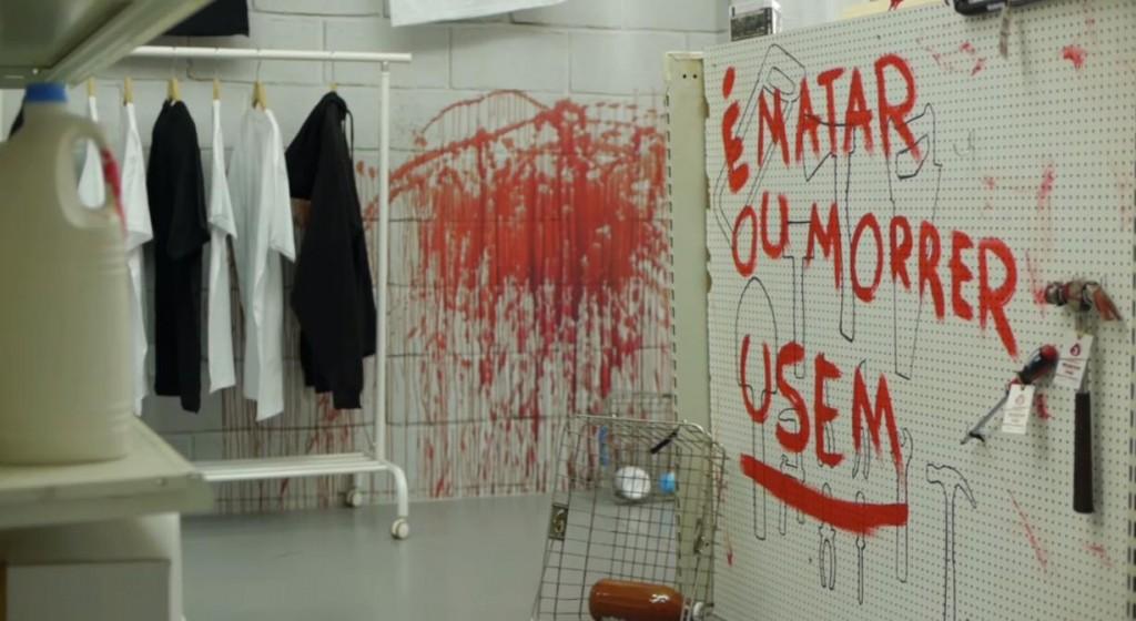 une boutique de sang THe walking dead a ouvert ses portes au Portugal