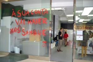troquer son san en échange de goodies the walking dead c'est possible au portugal !