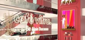Un café Vitra s'installe dan l'atrium du printemps haussman
