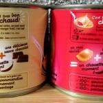 des raviolis dessert à manger chaud ou froid d'après Panzani