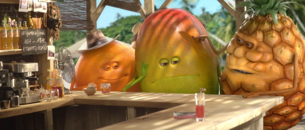 les p'tits fruits d'Oasis se retrouvent au Peach Bar