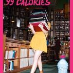se cultiver à la bibliothèque 99 calories