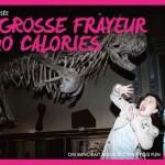1 grosse frayeur au musée 240 calories