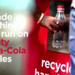 une bouteille vide = une partie de jeu gratuite à Dhaka pour pousser les habitants à recycler leur déchet