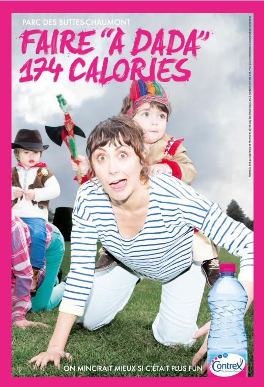 faire du dada à buttes chaumont 174 calories