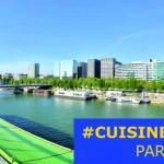 avec cuisinebox, cuisinez avec vue depuis le toit des docks, Cité de la Mode et du Design à paris
