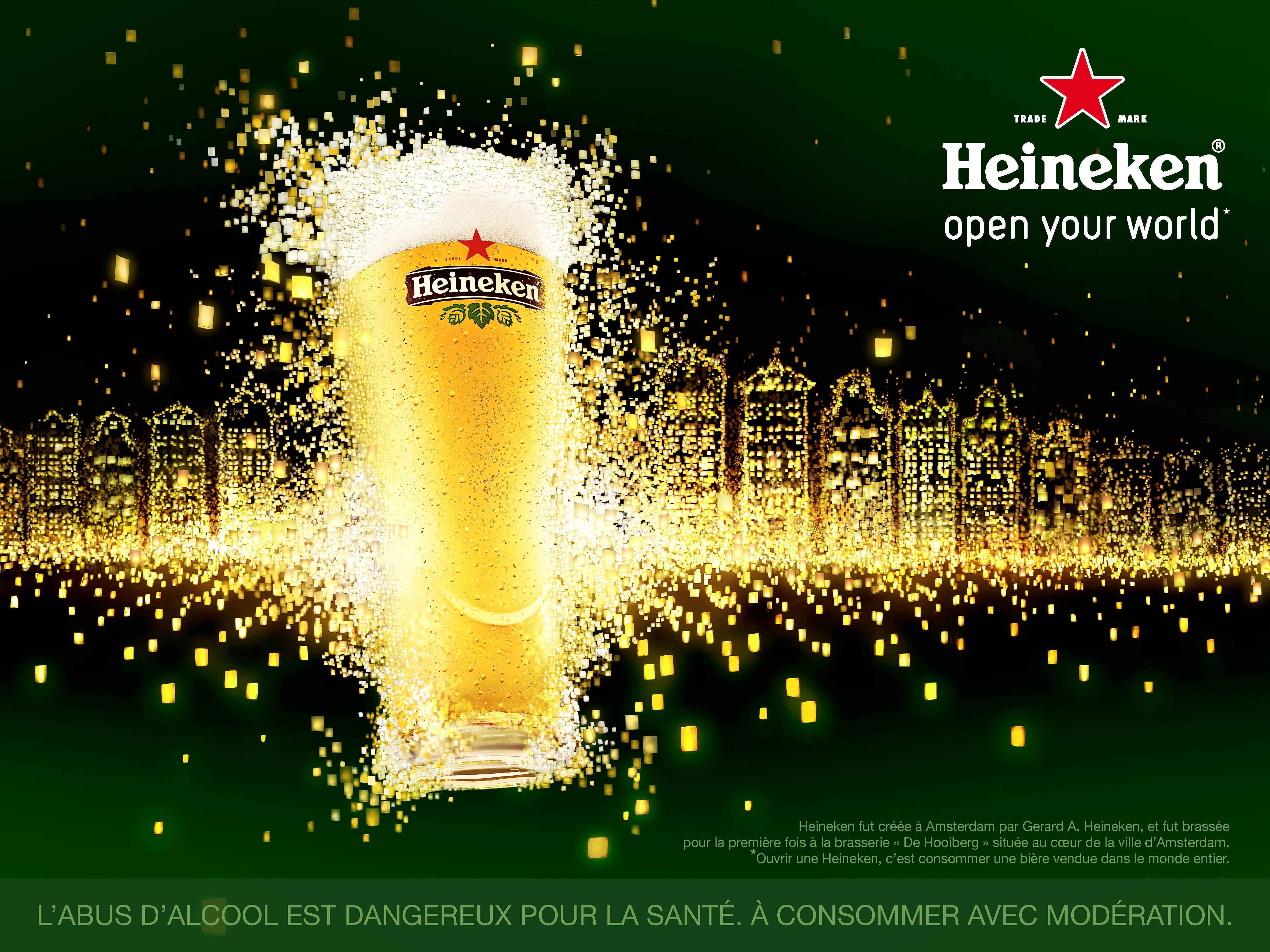 leader de la bière blonde heineken relève le défi de rester numéro 1 avec Publicis