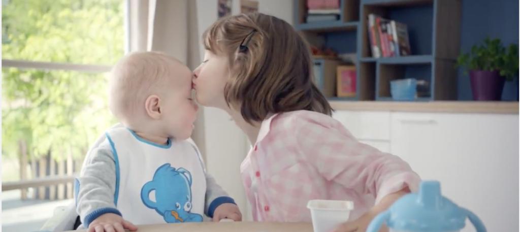 Nestlé Bébé transmet le goût des bonnes choses aux touts petits