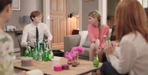perrier et ogilvy présente la nouvelle canette slim can dans un film promotionnel osé