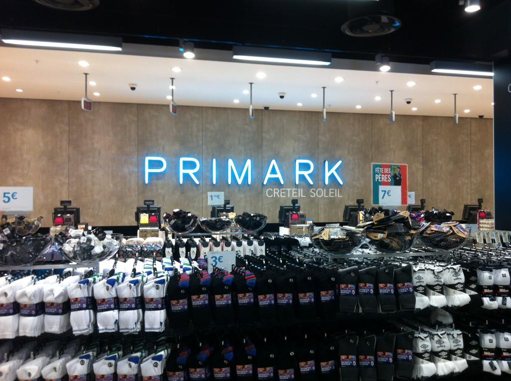 les caisses de primark sont prêtes