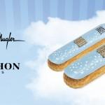 la maison Fauchon réalise un éclair savoureux au goût du parfum Angel