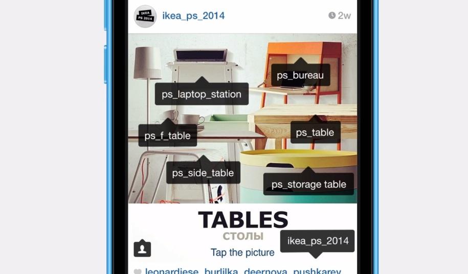 une image d'ambiance qui regroupe différents produits tagués pointant vers du contenu ciblé