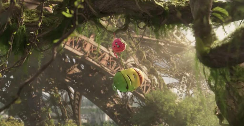 le monde des petits fruits bascule dans la chaos