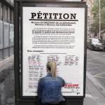 les personnes qui le souhaite peuvent signer la pétition depuis les abribus ou en ligne pour faire du 15 juillet un jour férié en cas de victoire