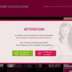 comme sur un site de charme, voyage sncf demande l'âge de l'internaute avant de rentrer sur le site