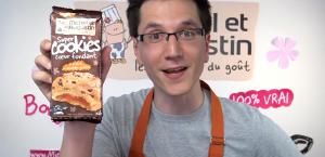 les super cookies présentés à la bananeraie par les équipes michel & augustin
