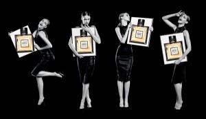 une campagne percutante pour le nouveau parfum de guerlain