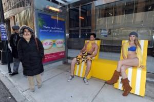 transats, lunettes de soleil, l'office de tourisme de floride est en opération séduction à new york