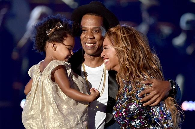 la famille Carter's unie sur scène
