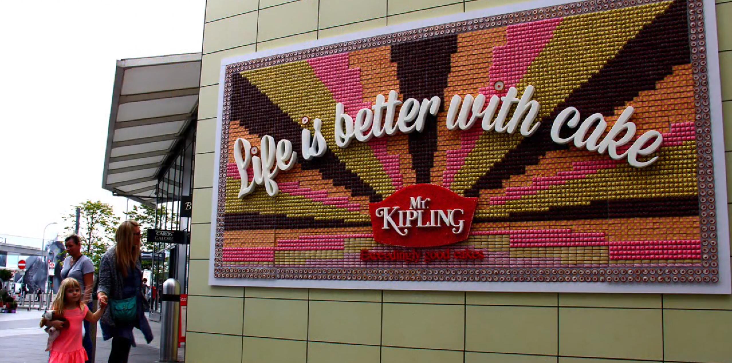un panneau qui a charmé les sens des londoniens