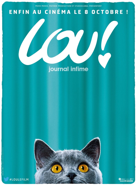 Affiche de Lou le film avec Le chat