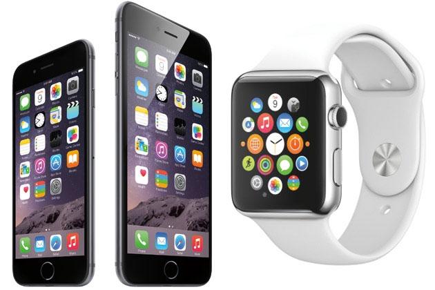 apple a présenté deux nouveaux iphone et une montre connectée