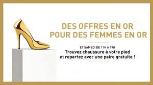 Klépierre organise la semaine des femmes en or avec une opération spéciale cendrillon