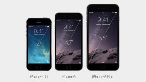 Deux nouveaux iphone encore plus fins et plus grands avec l'iphone 6 et l'iphone 6 plus