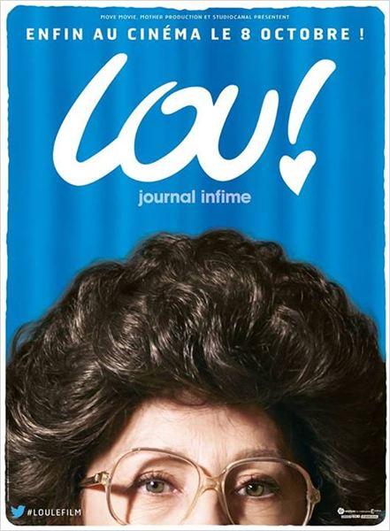 Affiche Lou le film la grand-mère à découvrir le 8 octobre