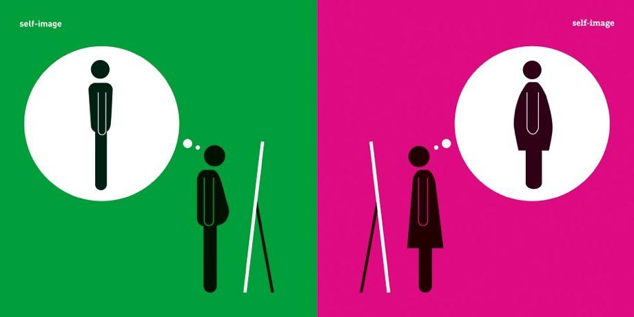 Yang Liu revisite les clichés sexistes en pictogrammes