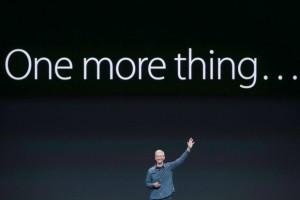 le one more thing de Tim Cook avec l'apple watch